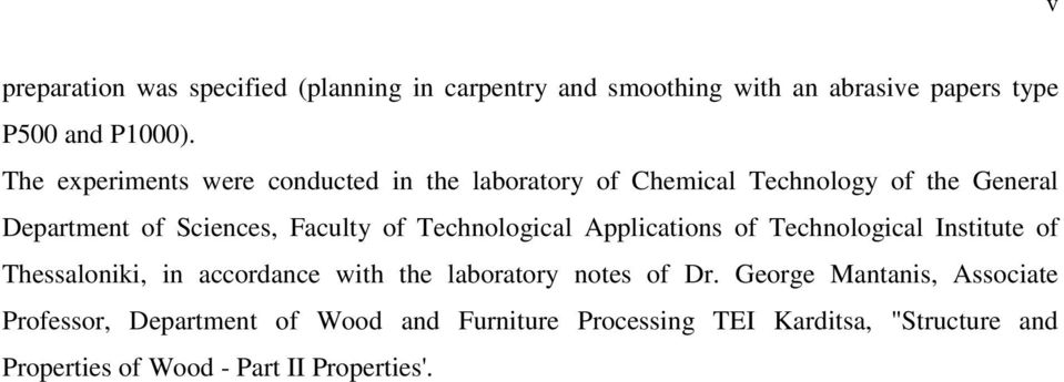 Technological Applications of Technological Institute of Thessaloniki, in accordance with the laboratory notes of Dr.