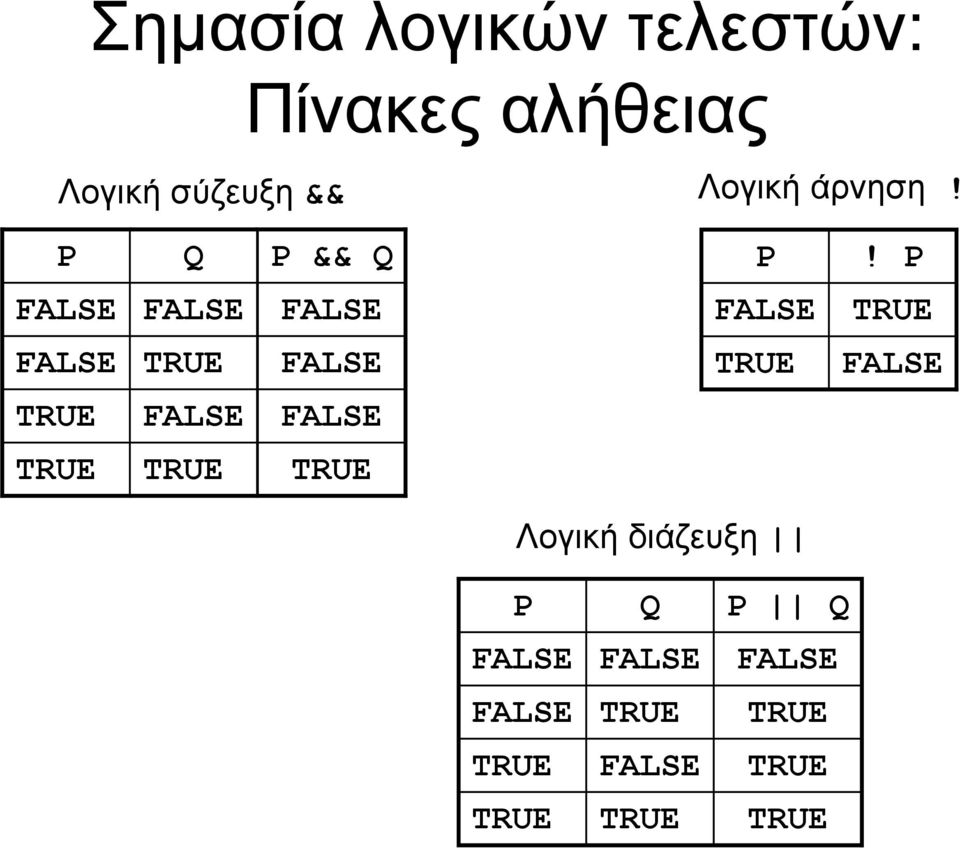 P FALSE FALSE FALSE FALSE TRUE FALSE TRUE FALSE TRUE FALSE TRUE