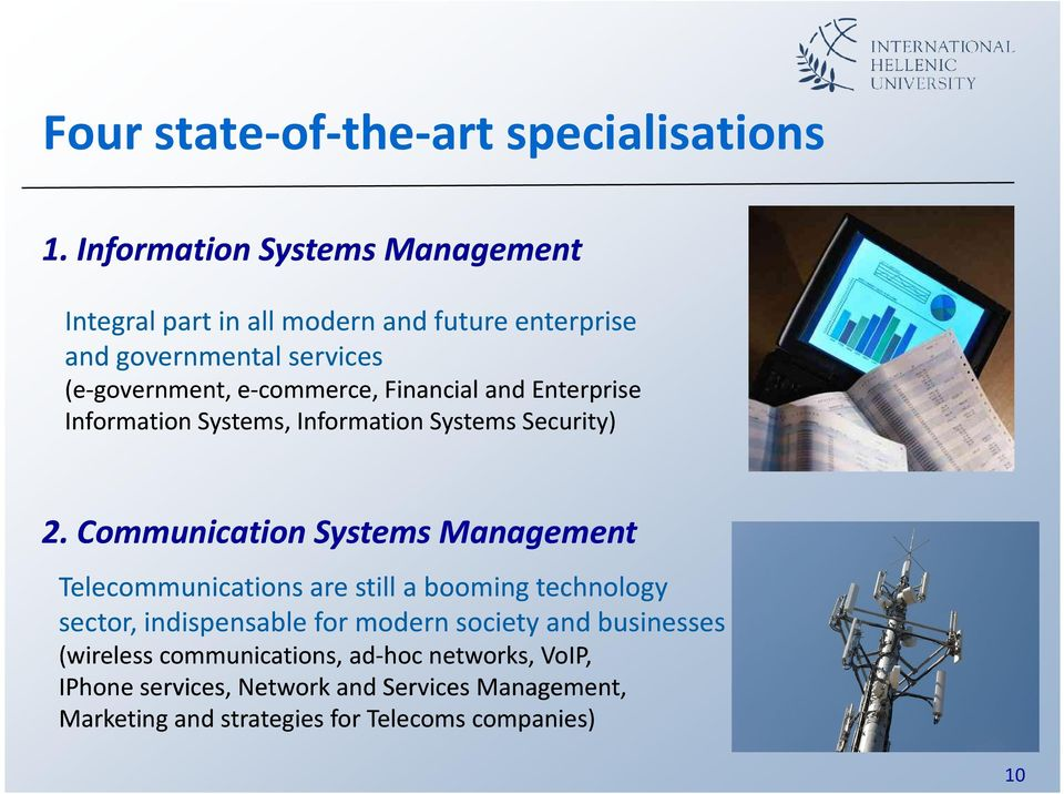 Financial and Enterprise Information Systems, Information Systems Security) 2.