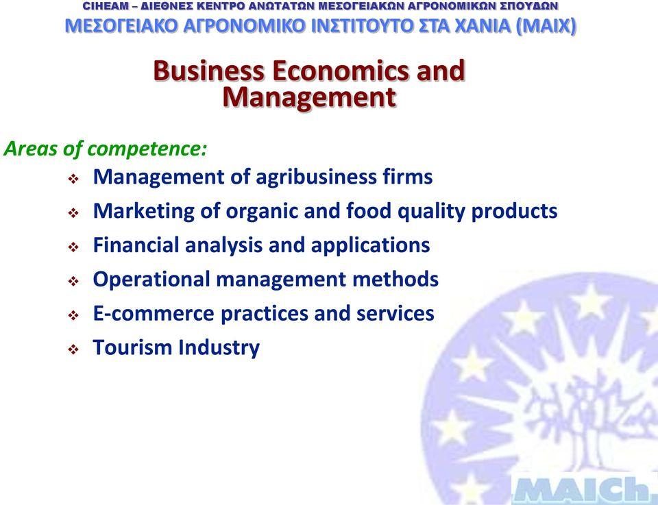 quality products Financial analysis and applications