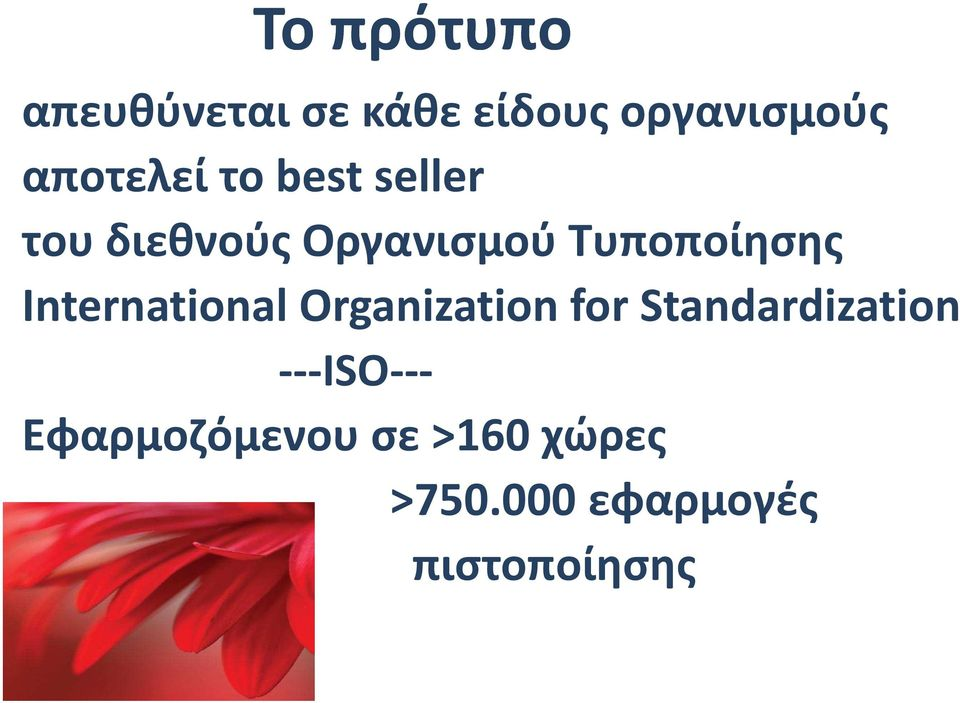 Τυποποίησης International Organization for
