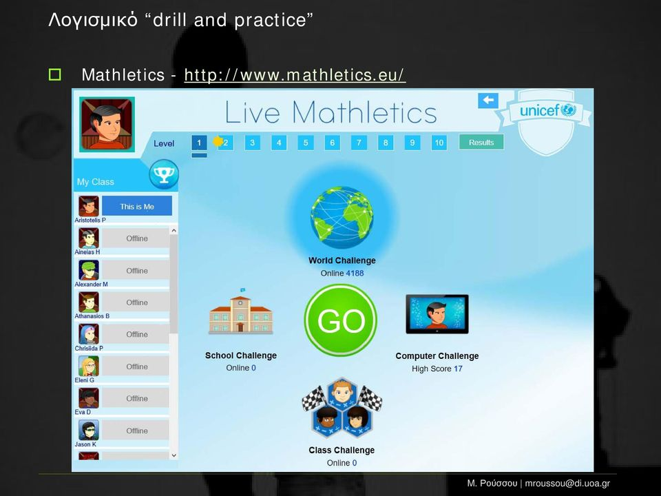 Mathletics -
