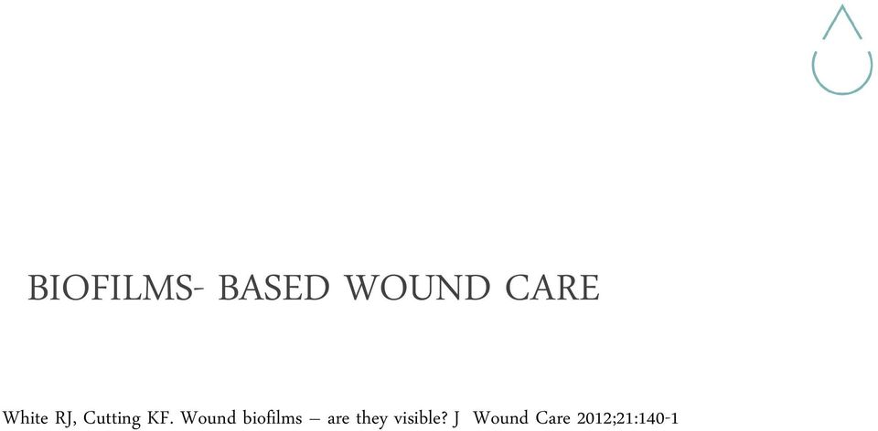 Wound biofilms are they