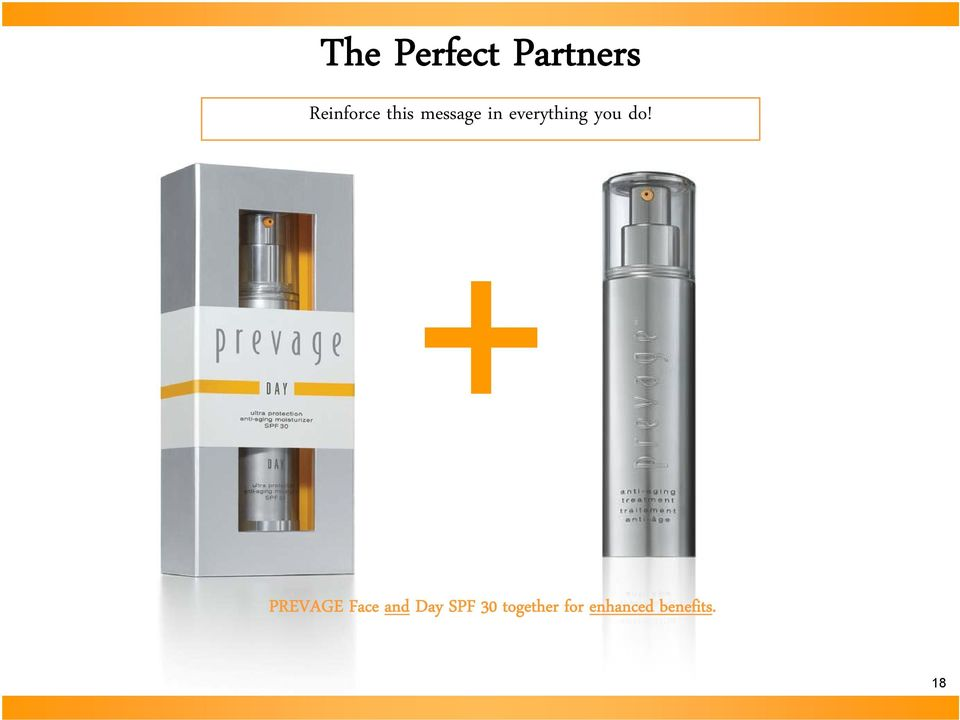 do! PREVAGE Face and Day SPF 30