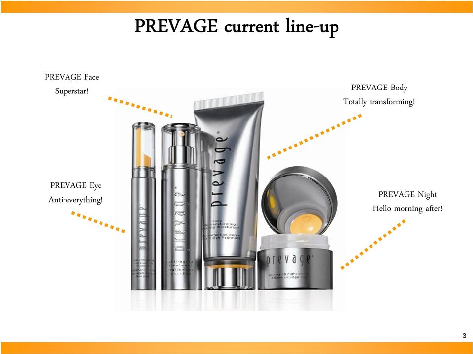PREVAGE Body Totally transforming!