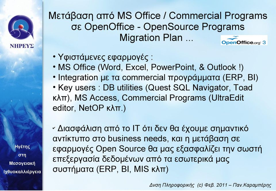 Access, Commercial Programs (UltraEdit editor, NetOP κλπ.