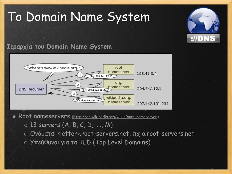 org/wiki/root_nameserver) 13 servers (A, B, C, D,.