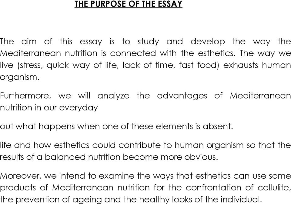 Furthermore, we will analyze the advantages of Mediterranean nutrition in our everyday out what happens when one of these elements is absent.