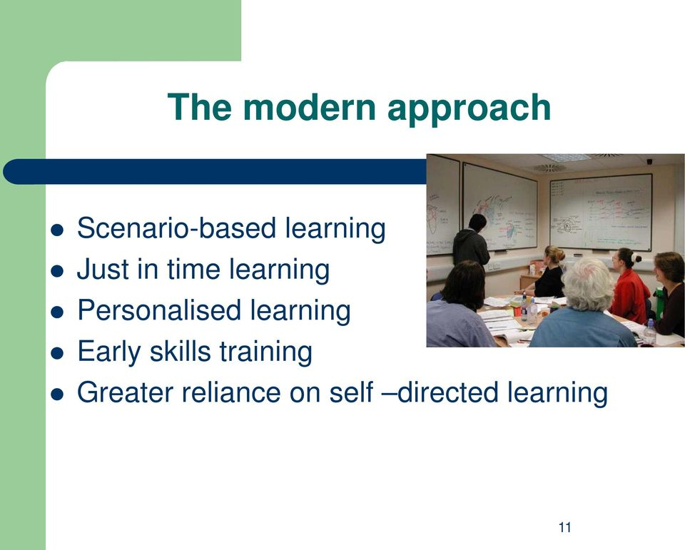 Personalised learning Early skills
