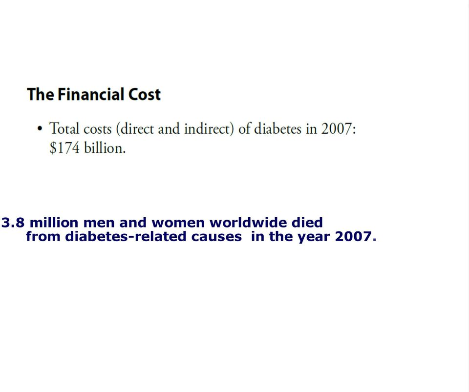 from diabetes-related