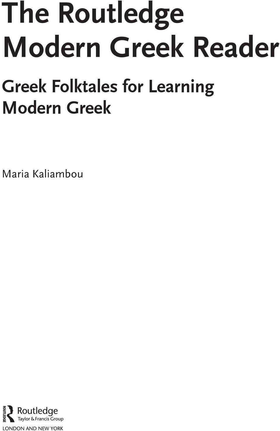 Folktales for Learning