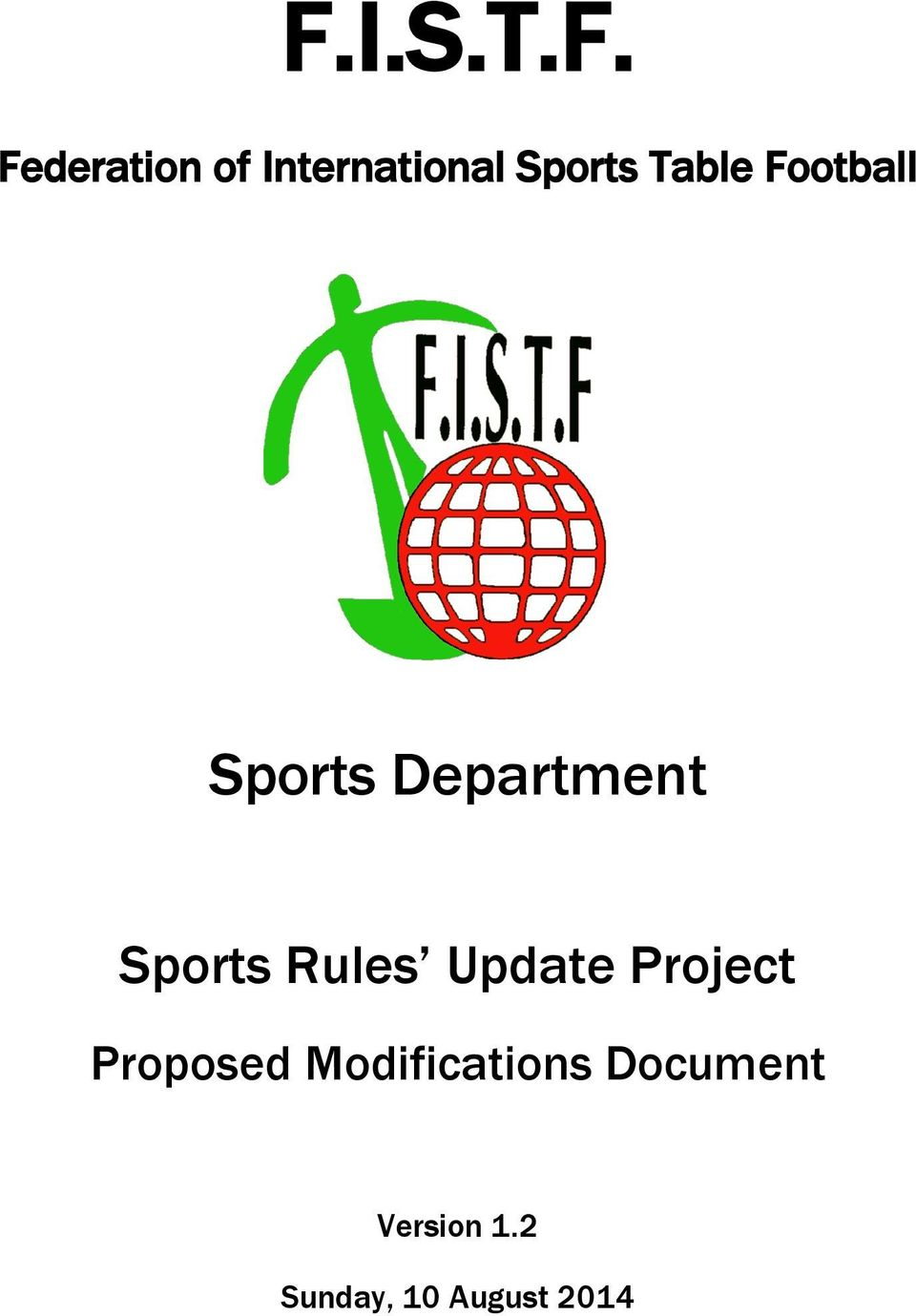 Sports Rules Update Project Proposed
