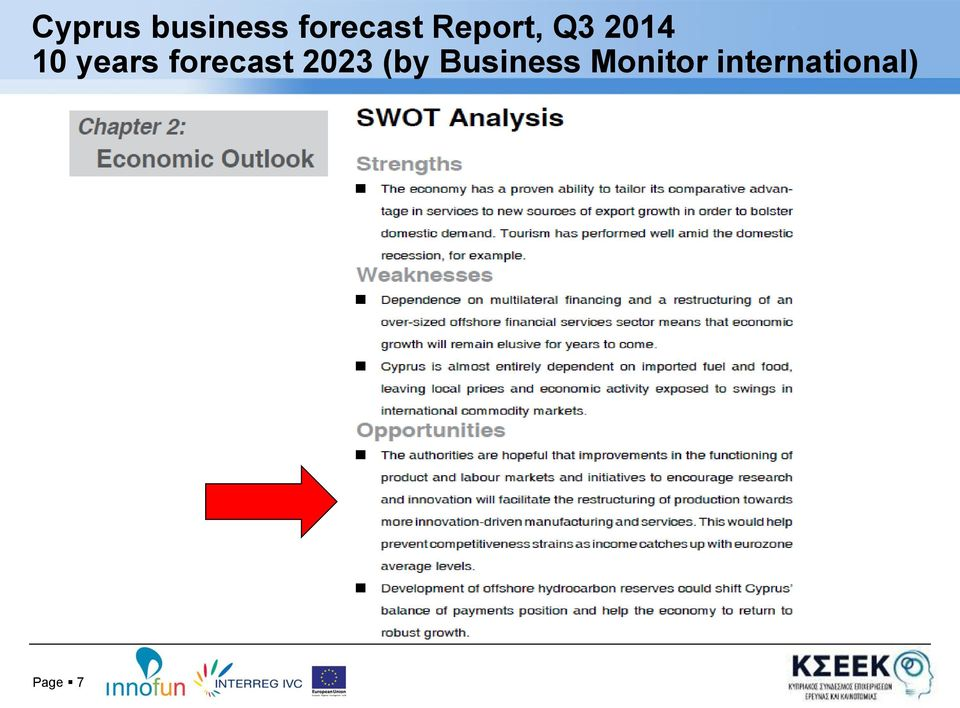 forecast 2023 (by Business