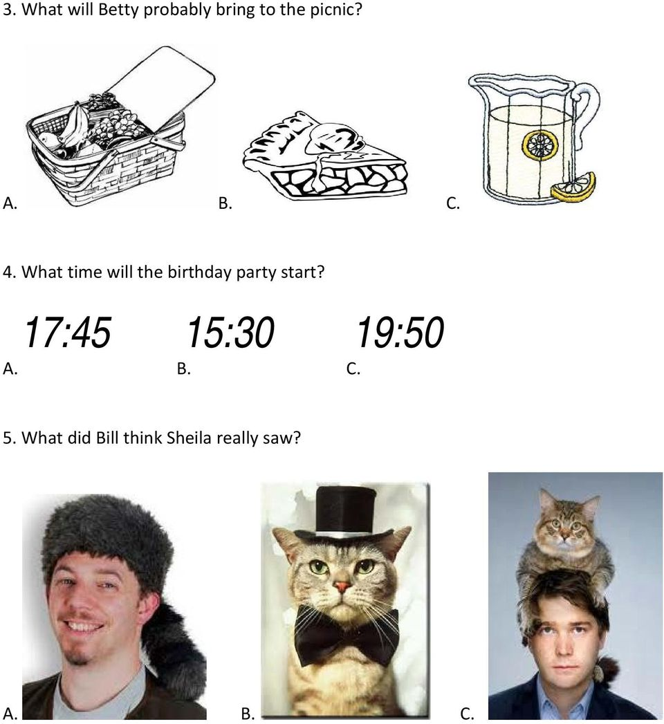 What time will the birthday party start?