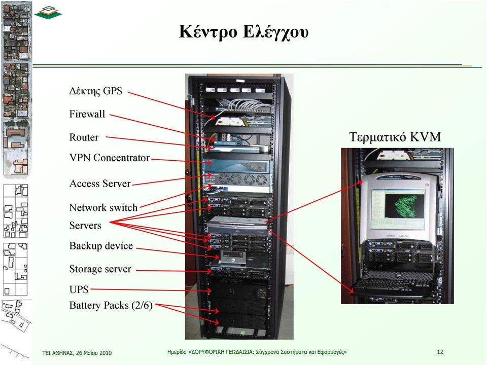 Storage server UPS Battery Packs (2/6) ΤΕΙ ΑΘΗΝΑΣ, 26 Μαΐου