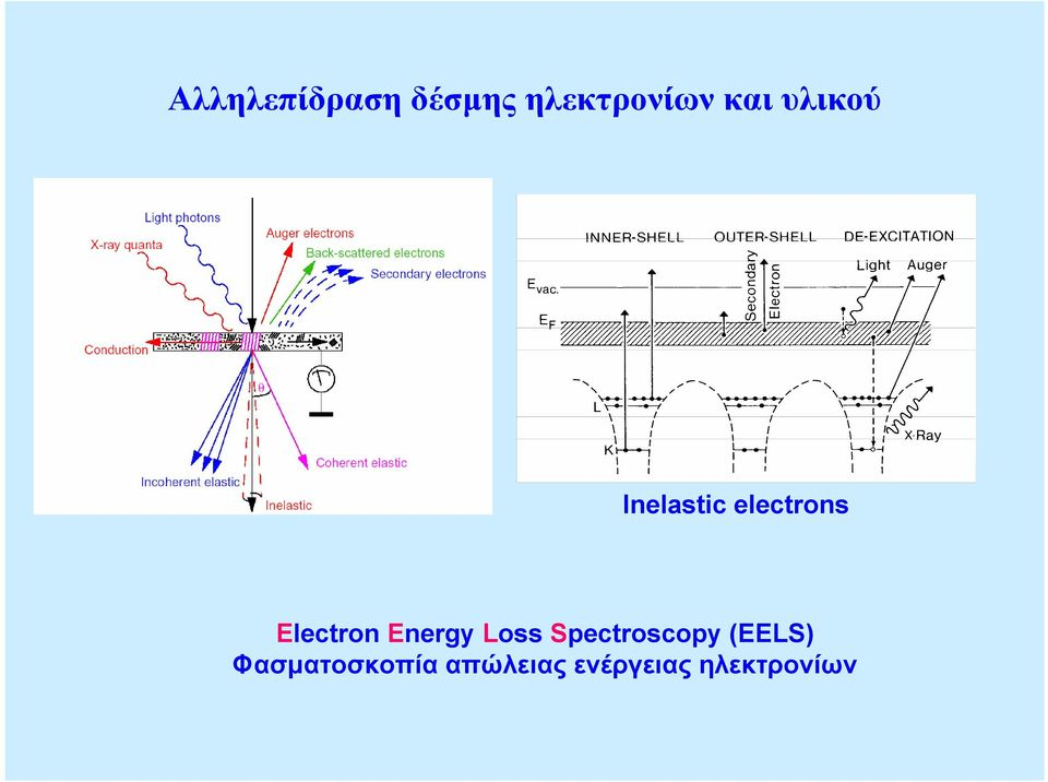 Energy Loss Spectroscopy (EELS)