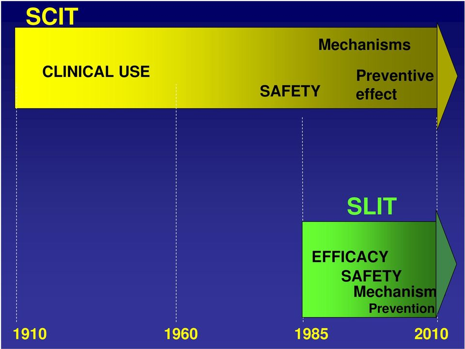 SLIT SAFETY EFFICACY