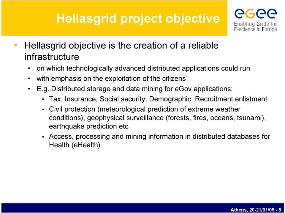 Distributed storage and data mining for egov applications: Tax, Insurance, Social security, Demographic, Recruitment enlistment Civil protection