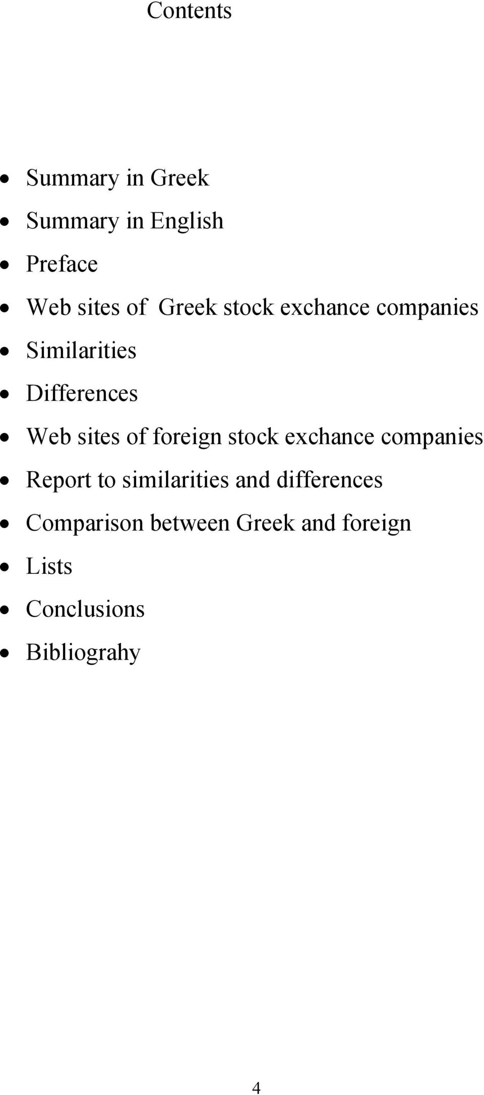foreign stock exchance companies Report to similarities and