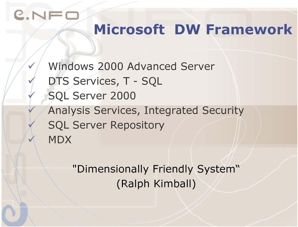 Analysis Services, Integrated Security SQL Server