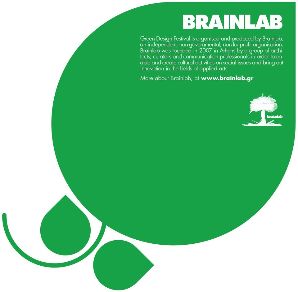 Brainlab was founded in 2007 in Athens by a group of architects, curators and communication