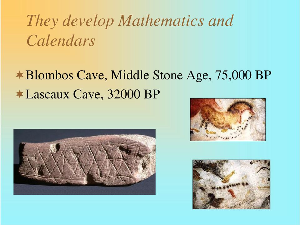 Cave, Middle Stone Age,