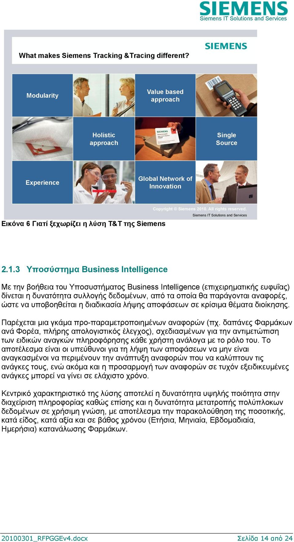 Siemens IT Solutions and Services 2.1.