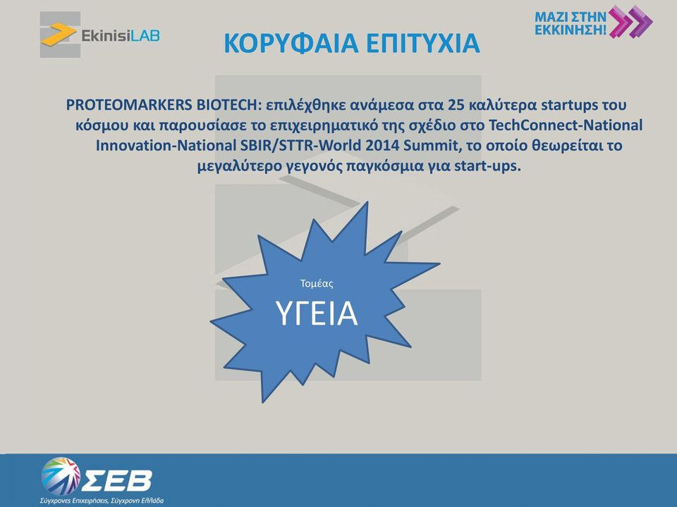 στο TechConnect-National Innovation-National SBIR/STTR-World 2014