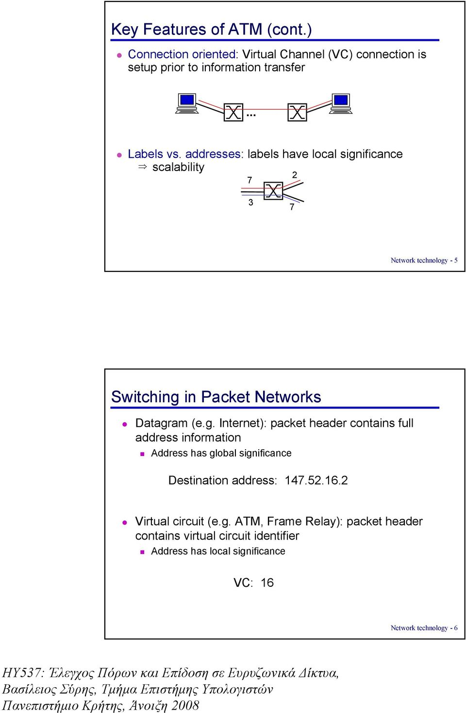 ificance scalability 7 2 3 7 Network technology