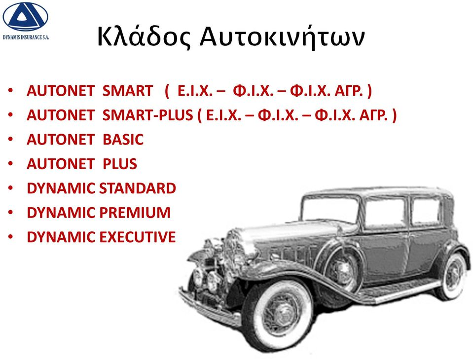 ) AUTONET BASIC AUTONET PLUS DYNAMIC