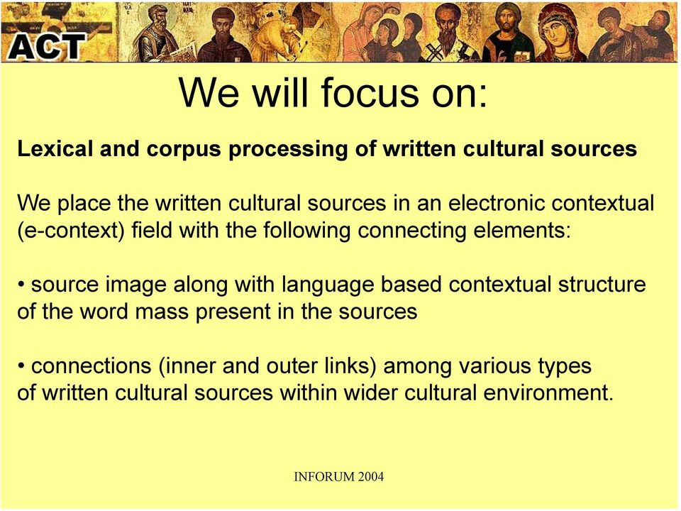 source image along with language based contextual structure of the word mass present in the sources