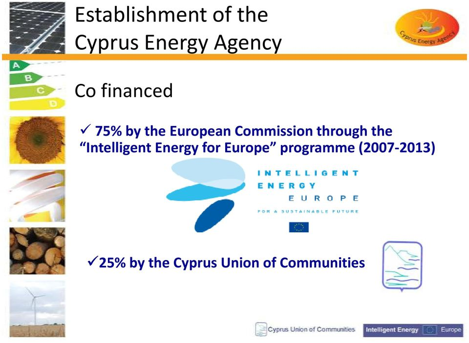 the Intelligent Energy for Europe