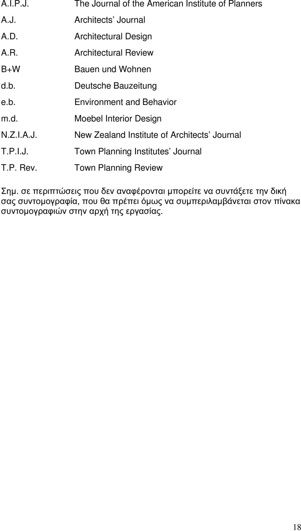Bauzeitung Environment and Behavior Moebel Interior Design New Zealand Institute of Architects Journal Town Planning Institutes Journal