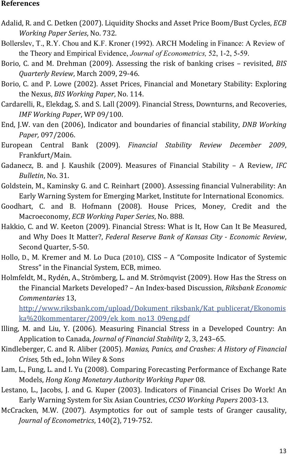 ARCH Modeling infinance: A Review of