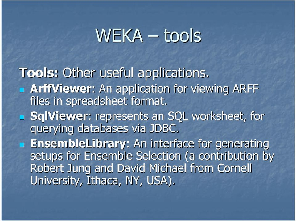 SqlViewer: : represents an SQL worksheet, for querying databases via JDBC.