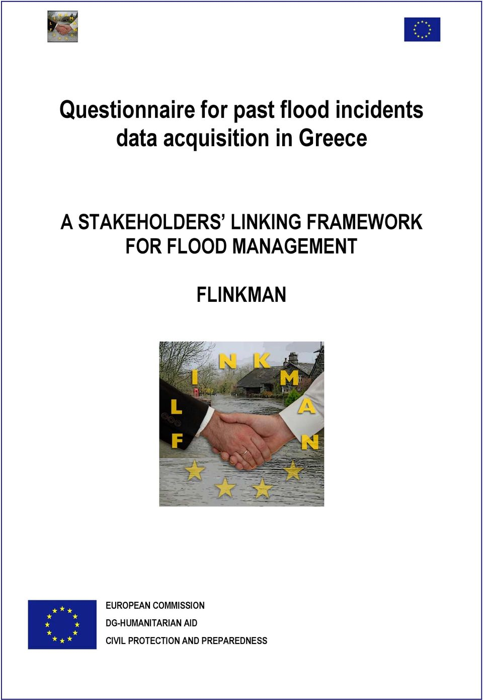 FRAMEWORK FOR FLOOD MANAGEMENT FLINKMAN EUROPEAN