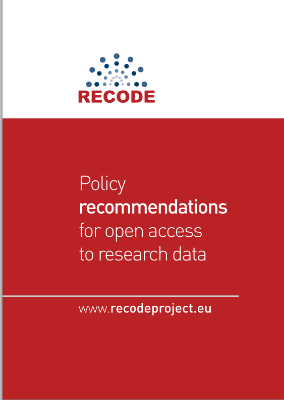 RECODE: Open access policies for
