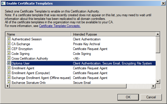 Policies, Windows Settings, Security Settings, Public Key Policies και επιλέγουµε το