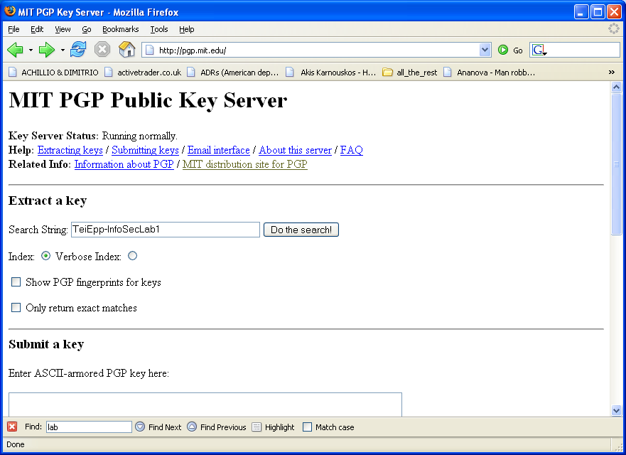 PGP Server