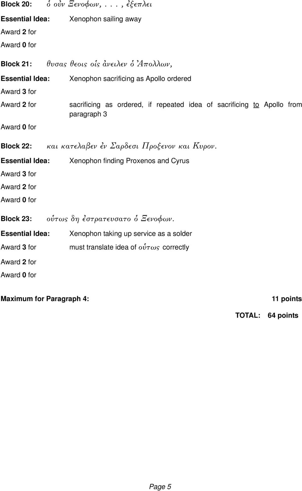 sacrificing as ordered, if repeated idea of sacrificing to Apollo from paragraph 3 Block 22: και κατελαβεν ν Σαρδεσι