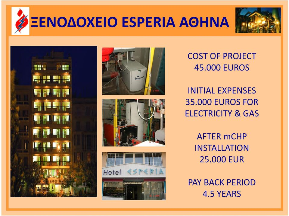 000 EUROS FOR ELECTRICITY & GAS AFTER