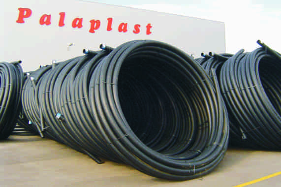 HDPE EN 22 CONVEYANCE WATER PIPES PE80 ΣΩΛΗΝΕΣ ΜΕΤΑΦΟΡΑΣ ΝΕΡΟΥ 2 nd Generation / 2ης Γενιάς (σ 6,3 MRS 8 PE 80) Safety Factor, Συντελεστής Ασφαλείας Available : Φ6 Φ (00 meter coil) : Φ0 Φ35 (5,8 &,8