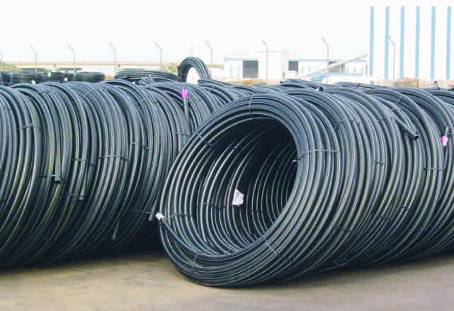 HDPE CONVEYANCE WATER PIPES PE80 ΣΩΛΗΝΕΣ ΜΕΤΑΦΟΡΑΣ ΝΕΡΟΥ 2 nd Generation / 2ης Γενιάς (σ 6,3 MRS 8 PE 80) Safety Factor,6 Συντελεστής Ασφαλείας Available : Φ6 Φ (00 meter coil) : Φ0 Φ35 (5,8 &,8