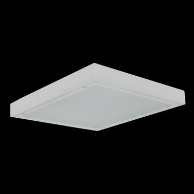 6 GoldLED-131 Panel Steril Recessed Προτεινόμενες Χρήσεις: LED Type Color Range Power Factor SMD Mid Power 4000-6500K 0,95 >80 CRI Body Frequency Lifetime Electrostatic powder coated metal 50.