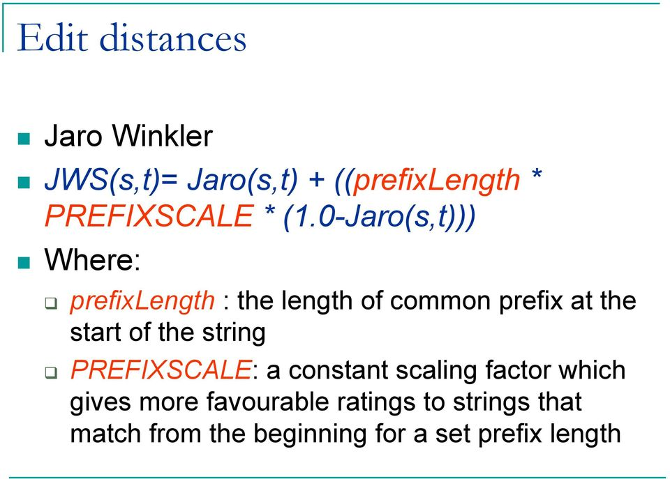 start of the string PREFIXSCAE: a constant scaling factor which gives more