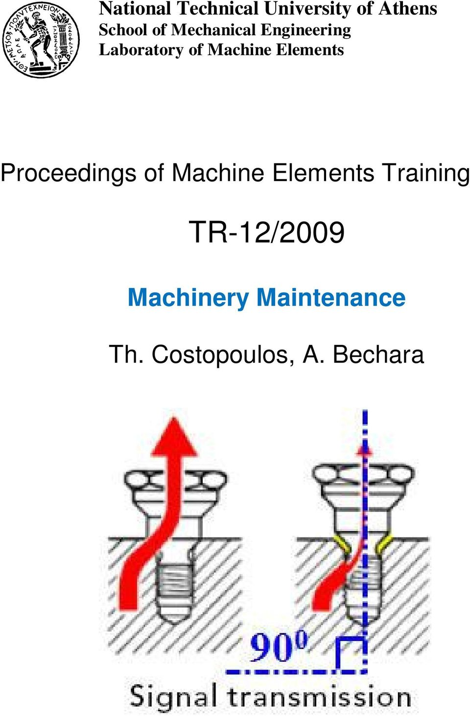 Elements Proceedings of Machine Elements Training