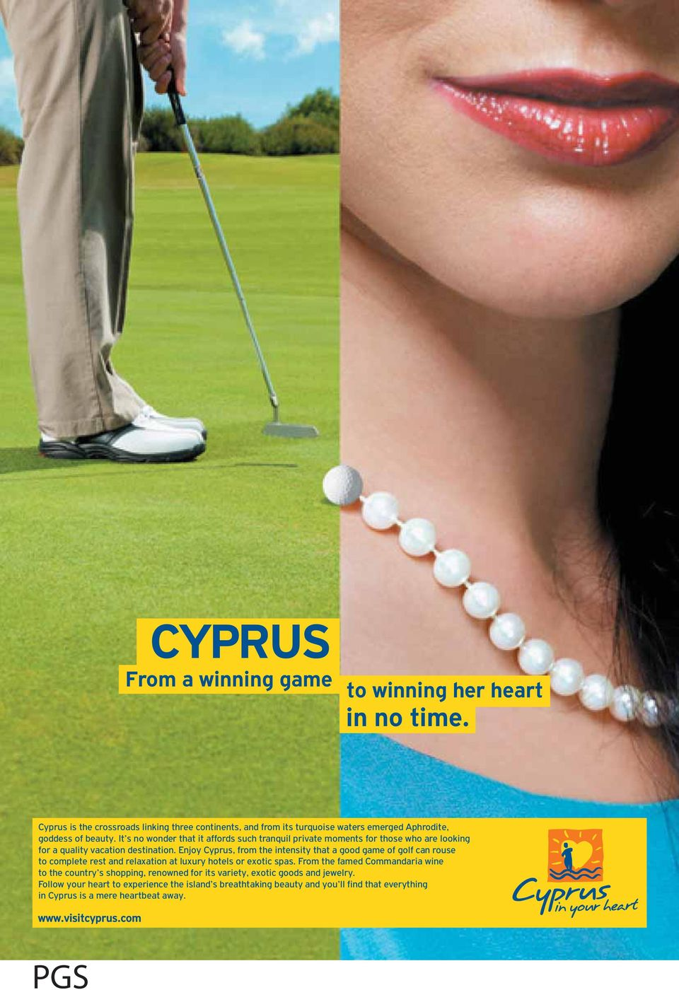 Enjoy Cyprus, from the intensity that a good game of golf can rouse to complete rest and relaxation at luxury hotels or exotic spas.