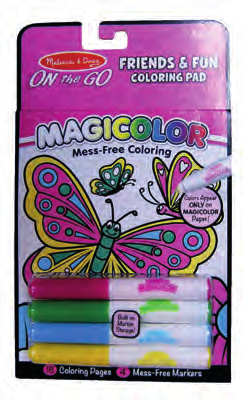 MELISSA & DOUGH 5,99 on the go 56161 COLOURBLAST-DINOSAURS 5357 COLOURBLAST-FAIRY 5355