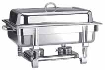 20404963 chafing dish, inox, GN 1/1, με