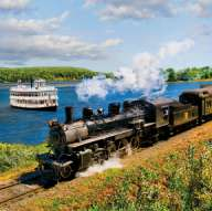 Cruise on Tuesday, June 27, 2017 and the Essex Valley Steam Train and